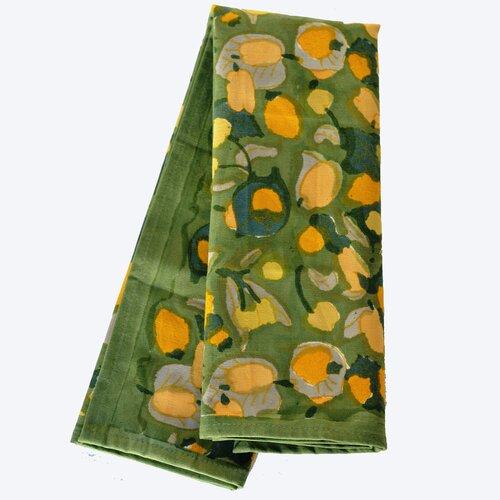 Fruit Yellow Green Tea Towel (Set of 3)