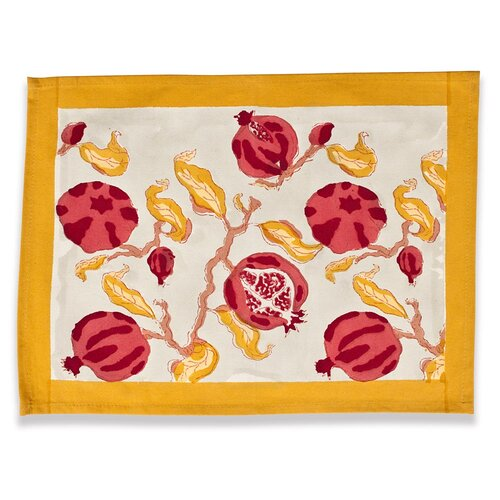 Couleur Nature Pomegranate Placemat