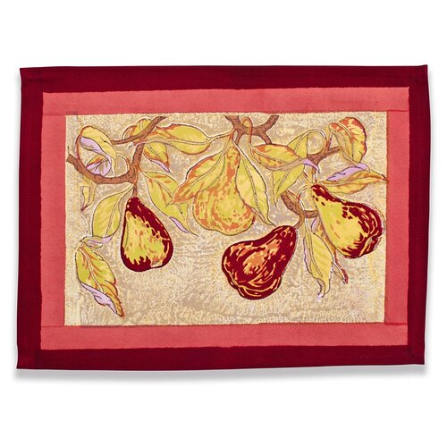 Poire Placemat (Set of 6)