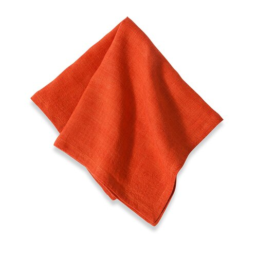 Couleur Nature Laundered Linen Solid Napkin (Set of 4)