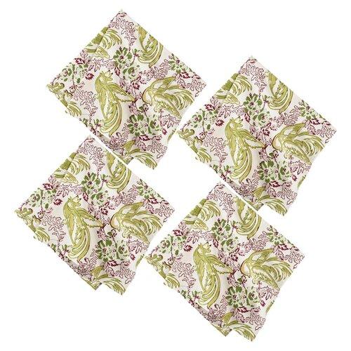 Couleur Nature Batik Bird Napkin (Set of 4)