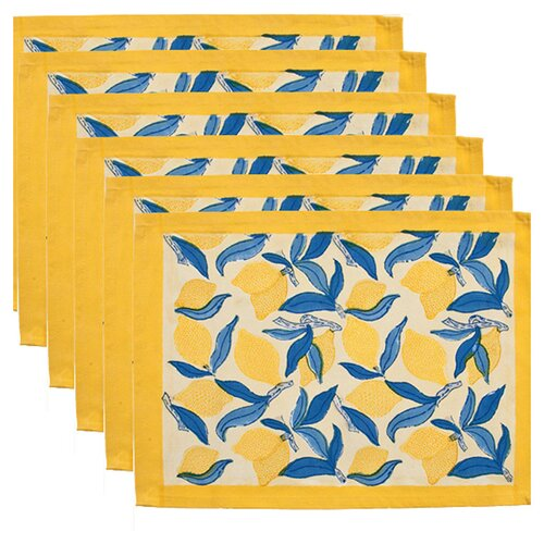 Lemon Tree Placemat (Set of 6)