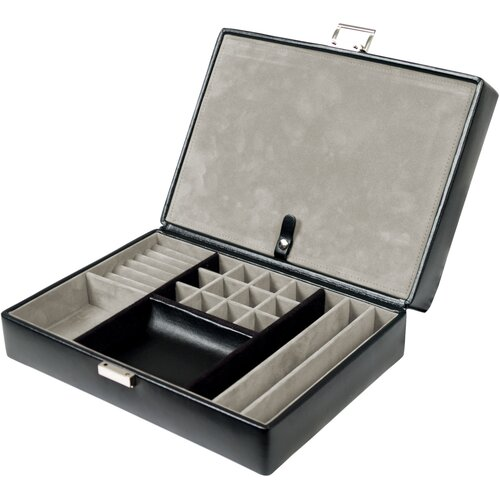 WOLF Heritage Watch Storage Boxes 4 Piece Travel Case