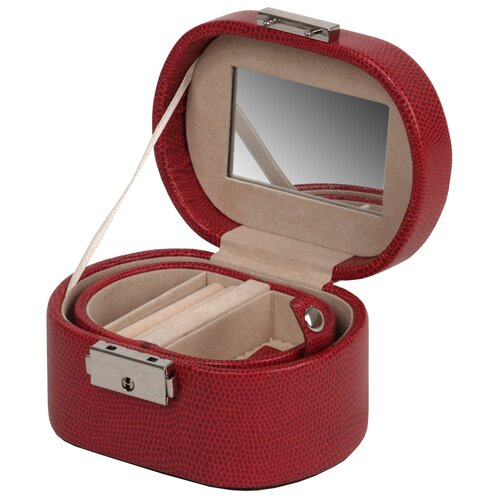 WOLF Heritage South Molton Travel Mini Jewelry Box