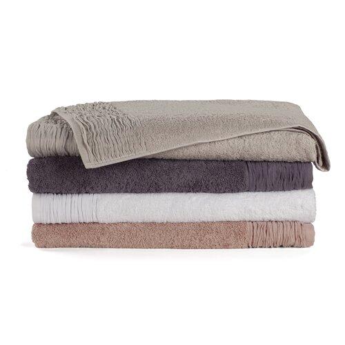 Nine Space Pleated 3 Piece Towel Set