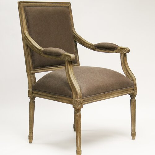Louis Fabric Arm Chair