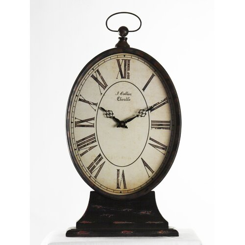 Zentique Inc. Tall Paris Table Clock