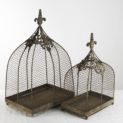 Zentique Inc. Metal Lantern (Set of 2)