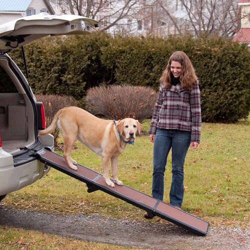 "Pet Gear Travel-Lite Tri-Fold 71"" Pet Ramp"