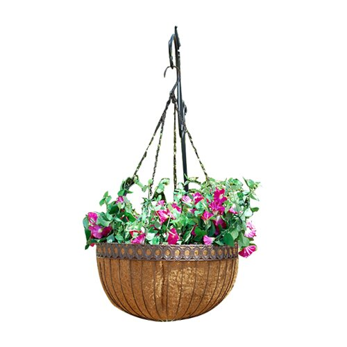Griffith Creek Designs Victorian Round Hanging Planter