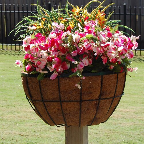 "Griffith Creek Designs 20"" Newport Planter for 2"" x 2"" Deck Post"