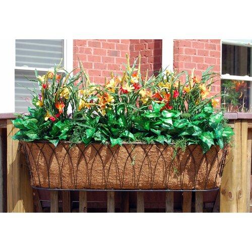 Nelumbo Rectangular Window Box Planter