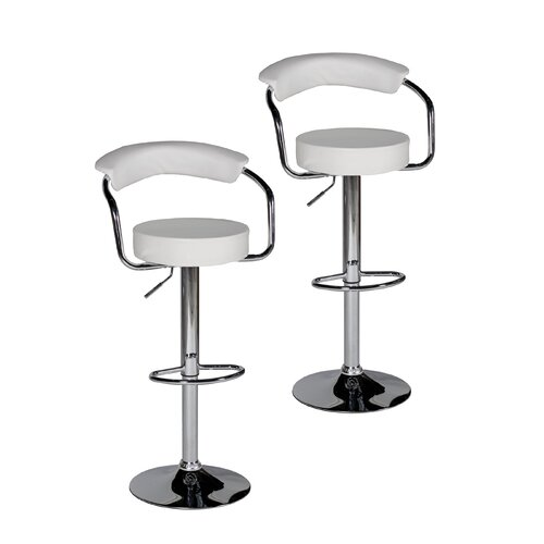 Bonny Adjustable Bar Stool (Set of 2)