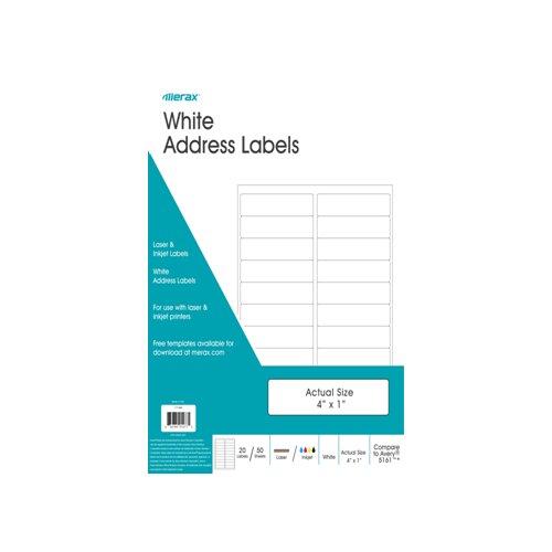 Merax Address Labels