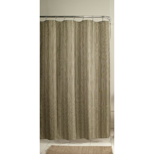 m.style Chesapeake Poly Shower Curtain