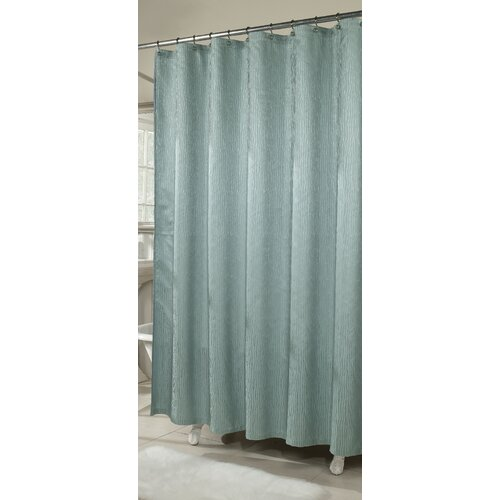 Waves Poly Shower Curtain