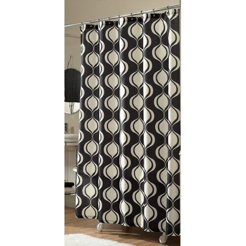 Ogee Microfiber Shower Curtain