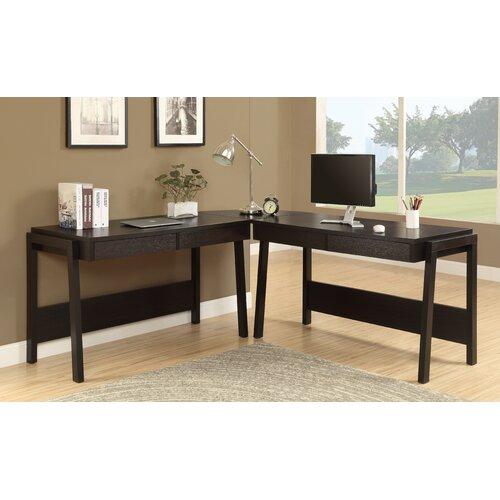 Monarch Specialties Inc. L-Shape Desk Office Suite