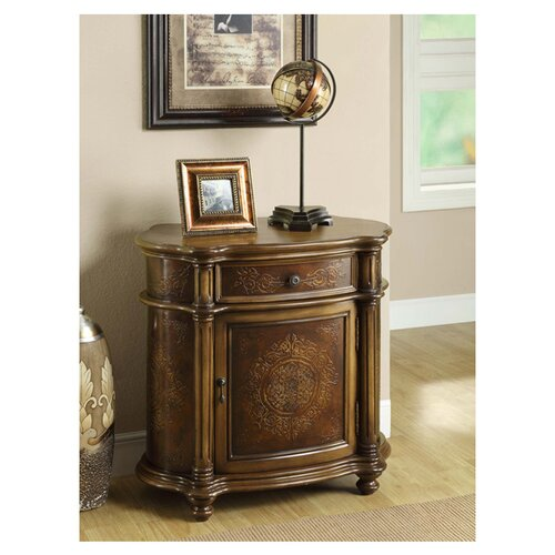 Monarch Specialties Inc. 1 Drawer Bombay Cabinet