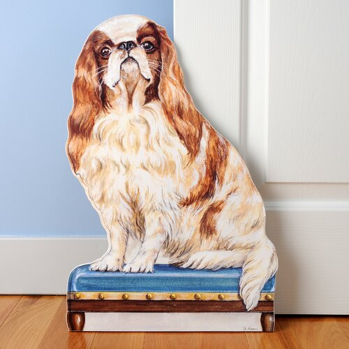 Stupell Industries King Charles Decorative Dog Door Stop