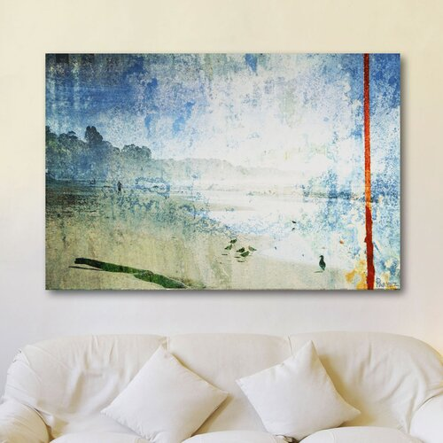 Parvez Taj Bluffs by Parvez Taj Graphic Art on Canvas