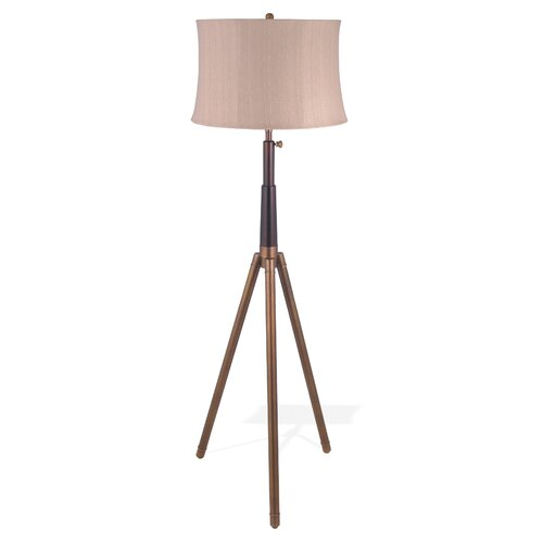 Lighting Enterprises Adjustable Tripod Telescope Floor Lamp