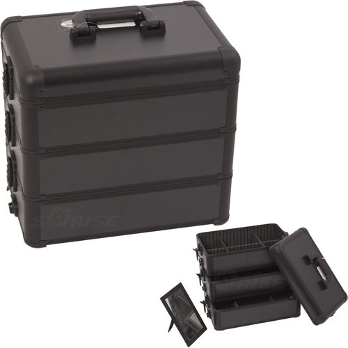 Sunrise Cases Professional Cosmetic Train Case