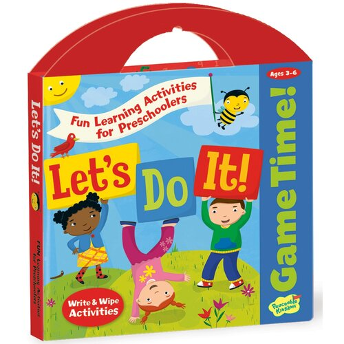 Peaceable Kingdom Let's Do It Activity Book