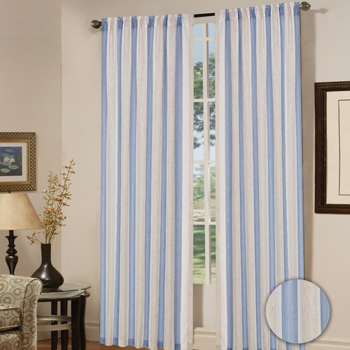 Madison Home Hudson Rod Pocket Curtain Panel