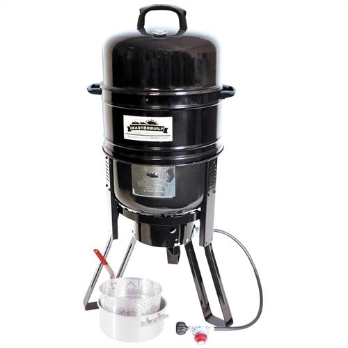 Masterbuilt 7 In 1 Charcoal Propane Smoker And Grill