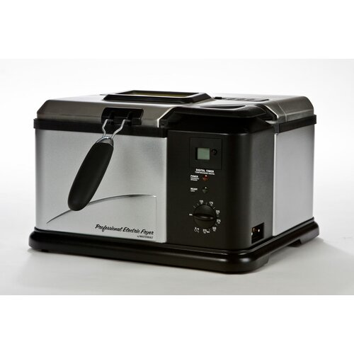 3.8 Liter Indoor Electric Fish Fryer