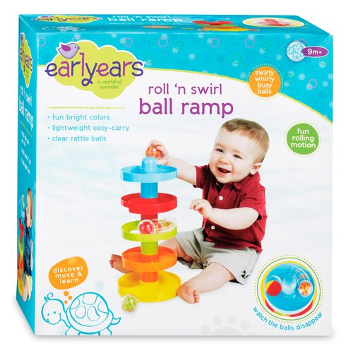Early Year Roll N Swirl Ball Ramp