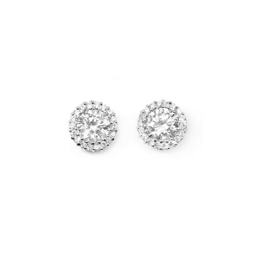 Rozzato Round Stud Earrings