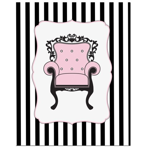 Secretly Designed Elegant Chair Art Print
