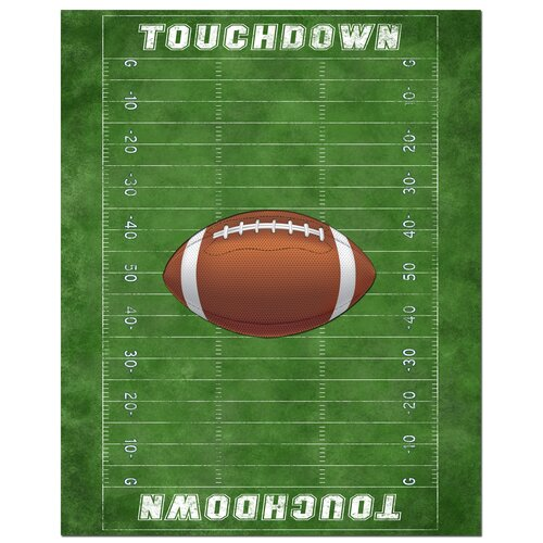Secretly Designed Football Field Canvas Art