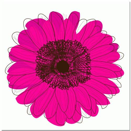 Secretly Designed Single Flower Art Print