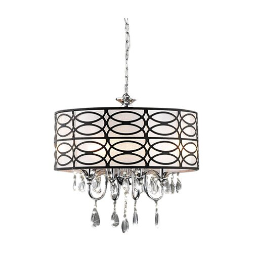 warehouse of tiffany cecilia 4 light crystal chandelier reviews. Black Bedroom Furniture Sets. Home Design Ideas
