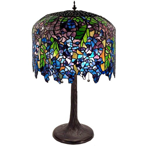 Warehouse of Tiffany Wisteria Table Lamp