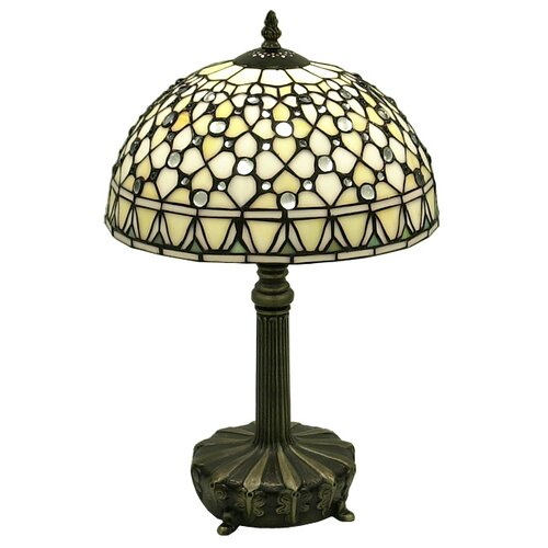 "Warehouse of Tiffany 19"" H Jewel Table Lamp"