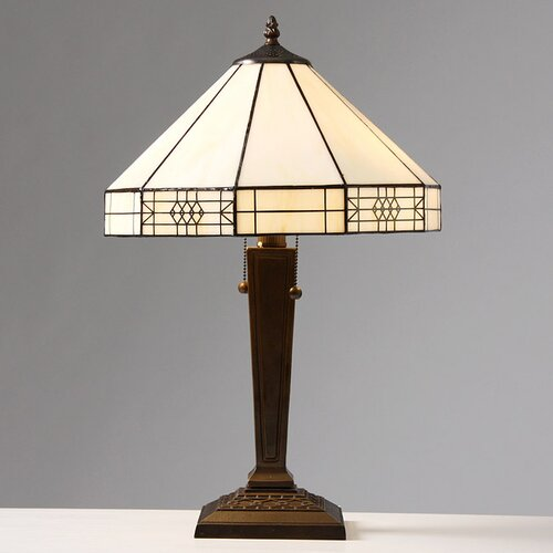 "Warehouse of Tiffany Mission 21"" H Table Lamp"