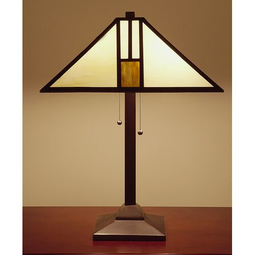 "Warehouse of Tiffany Mission 25"" H Style Table Lamp"