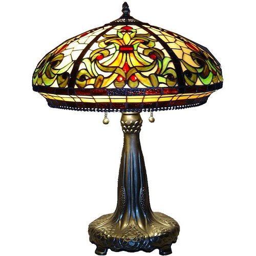 Warehouse of Tiffany Classic Table Lamp