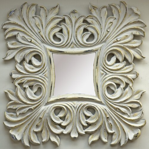 Joan of Arc Square Framed Mirror