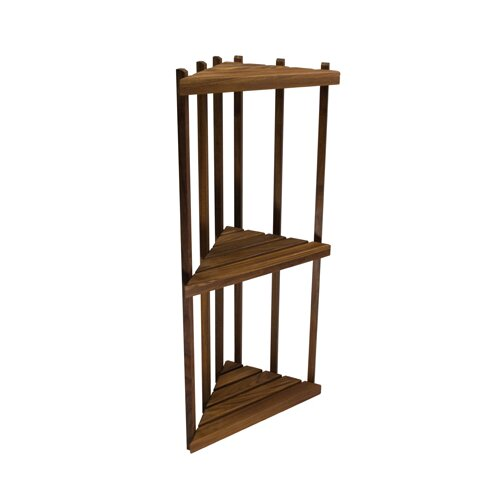 "Teakworks4u Teak 16"" x 36"" Bathroom Shelf"