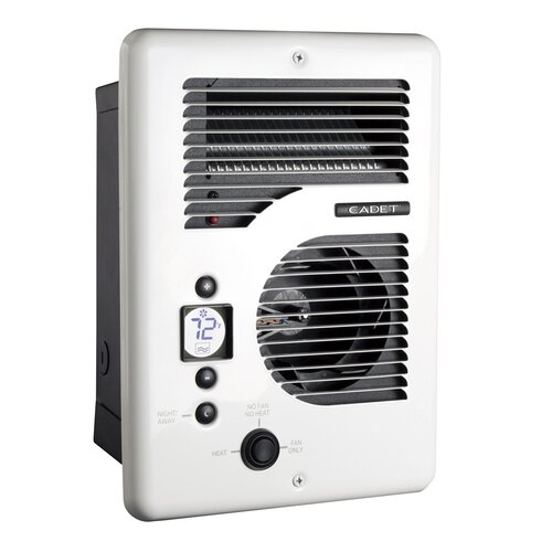 Cadet Com-Pak Energy Plus Fan Forced Electric Wall Space Heater