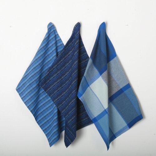 3 Piece Textiles Tweed Dishtowel Set
