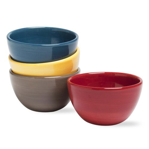 TAG Beach Salsa Solid Bowls
