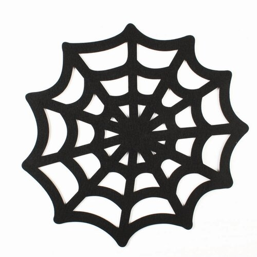 TAG Spooky Party Spiderweb Felt Placemat