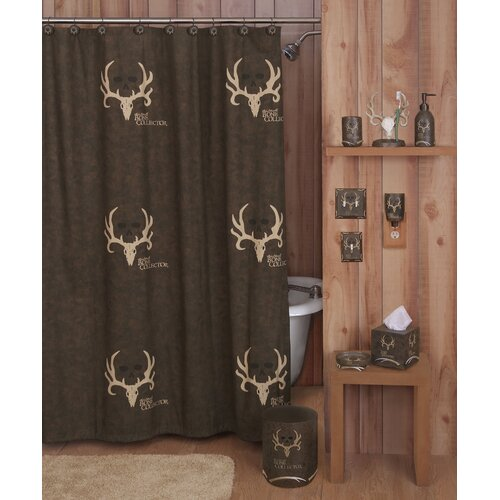 Bone Collector Cotton Blend Shower Curtain