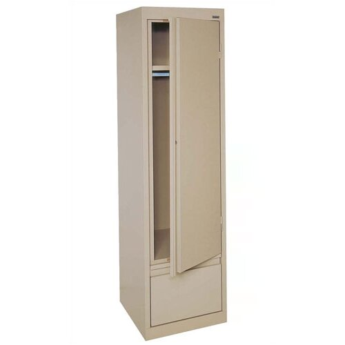 "Sandusky Cabinets Systems Series 17"" Single Door Wardrobe Cabinet"